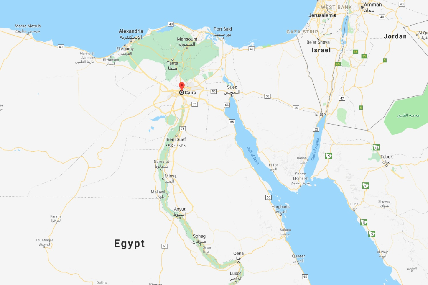 Where Is Cairo On A Map Picture Ideas References - Where is cairo